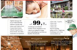 Recovery Special im Hotel Eder